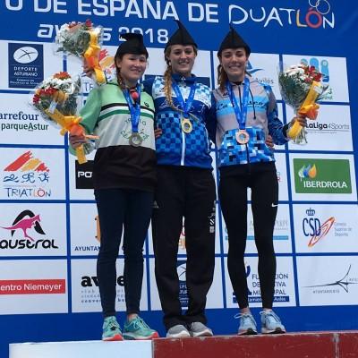 Camila Alonso, campioa de España